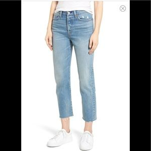Levi's Wedgie Straight Leg Crop Jean